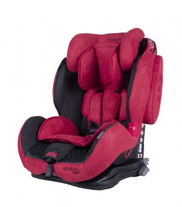 Fotelik COLETTO Sportivo ISOFIX 9-36 kg Red 2019