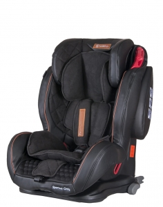Fotelik COLETTO Sportivo Only ISOFIX 9-36 kg Black