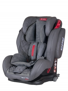 Fotelik COLETTO Sportivo Only ISOFIX 9-36 kg Grey 2