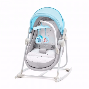 Kinderkraft Leżaczek 5w1 UNIMO Light Blue